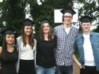 Fünf Abiturienten aus dem Sportinternat