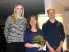 Anne Rapaud (M.), Lynn Kosina (l.), Ruben Stolberg