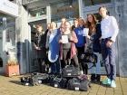 Sanitätshaus Micke & Co. Geschenk an Sportinternat