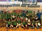 Basketballteams Pascal-Gymnasium Landesfinale 2016