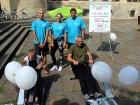 Infostand Sportinternat Stadtfest Münster 2018