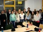 Studierende und Dozenten, WWU-Seminar Spitzensport und Schule