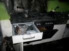 Brandschaden in einer Etagenküche, 22. April 2014