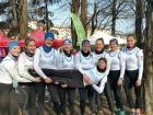 Juniorinnen-Achter NWRV, Turin 2018