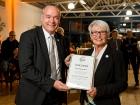 WVV Ehrung, Hubert Martens, Karin Reismann